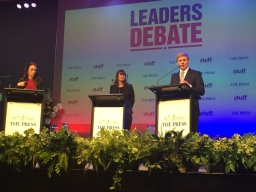 Mark Boyd|New Zealand election debates better quality this year as close election looms
